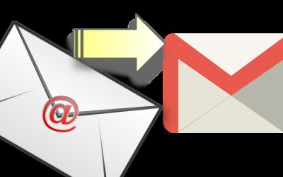 Redirigir correo a Gmail, ¿cómo lo hago?